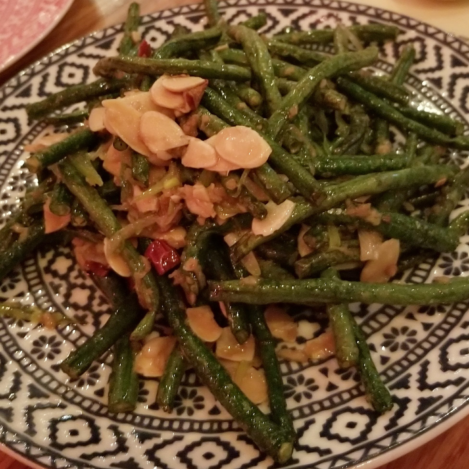 china poblano green beans
