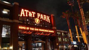 AT&T Park Night