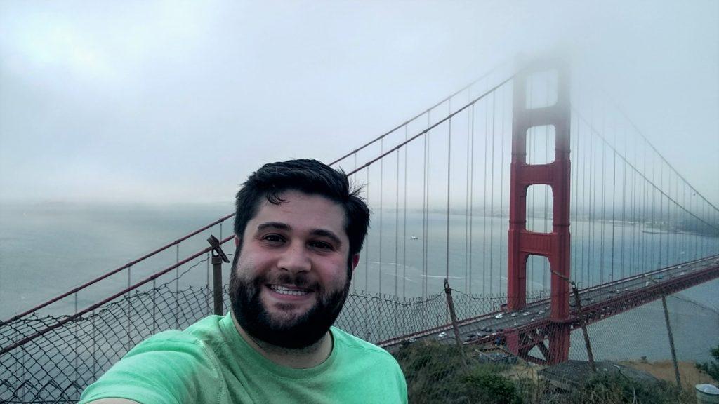 Me Golden Gate Bridge