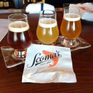 Scomas beer flight