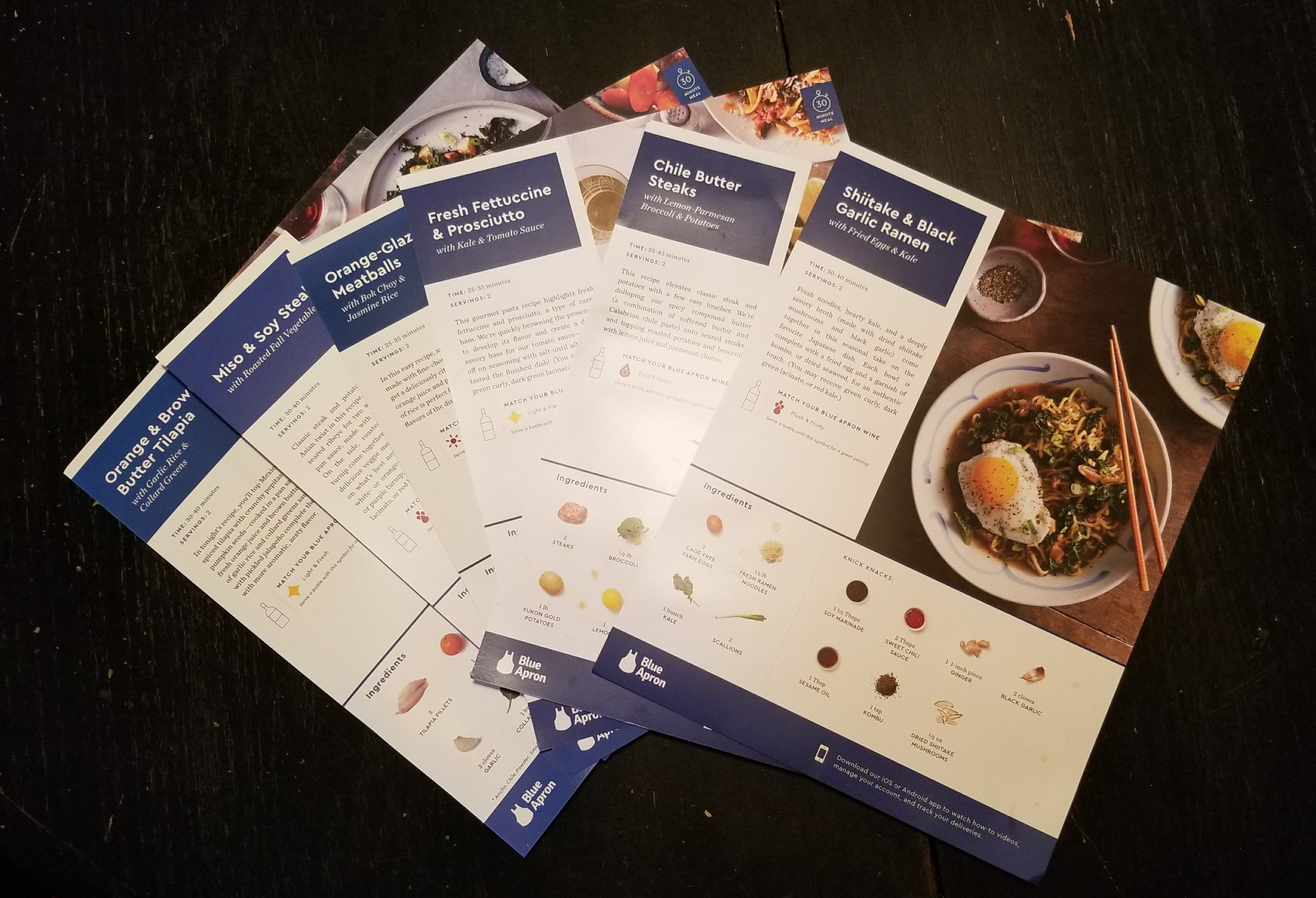 My Initial Experiences with Blue Apron