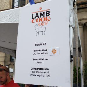 Lambfest Team 2 Sign