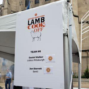 Lambfest Team 6 Sign