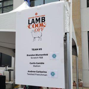 Lambfest Team 5 Sign