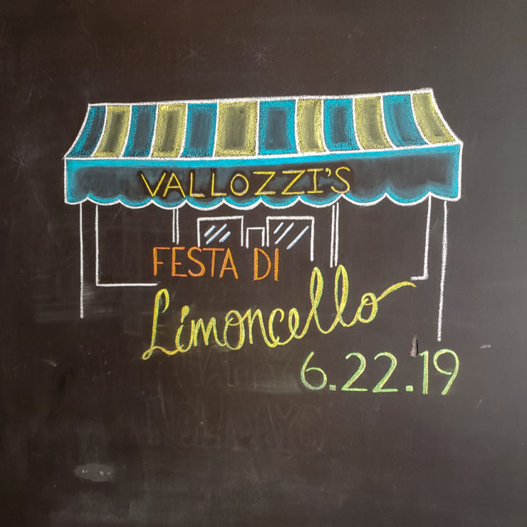 Festa di Limoncello Sign