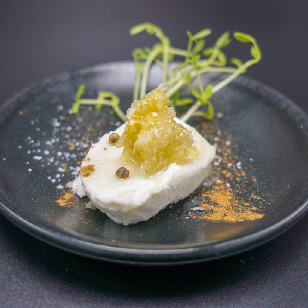 Goat Cheese Amuse Bouche