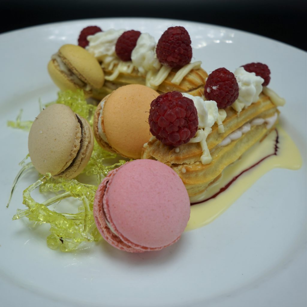 Jean Louis Eclair and Macarons