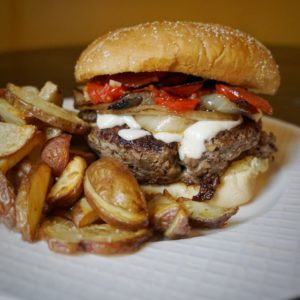 2020 Blended Burger with Fries