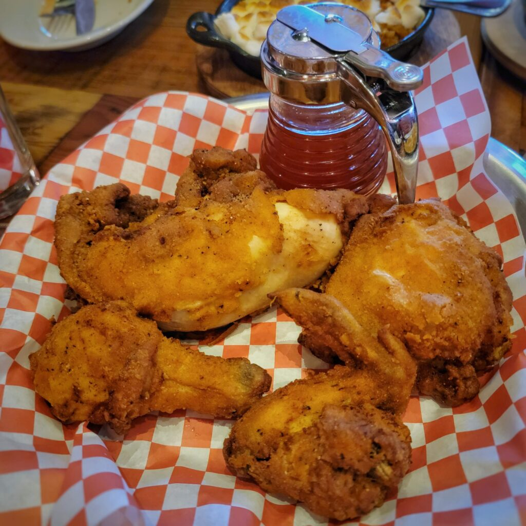 The Eagle - Fried Chicken Half