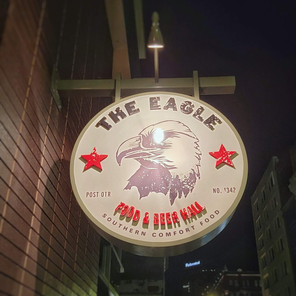 The Eagle - Sign